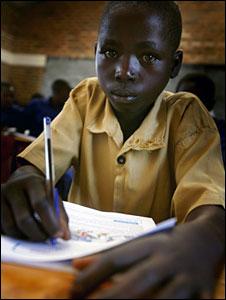Rwandan schoolboy in Nyamikamba, Rwanda (Photo Kate Holt/Oxfam)