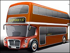 The Capoco Design retains the Routemaster-style front engine
