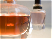 botellines de perfume