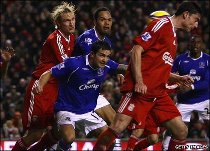 The little guys upset the big guns, as Tiny Tim Cahill nets a more than deserved equaliser at Anfield.