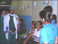 Sala de emergencia del hospital Domingo Luciani de Caracas