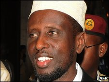 Sheikh Sharif Sheikh Ahmed on 1 February 2009