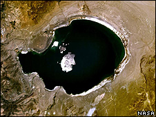 """Mono lake"", US (Image: Nasa)"