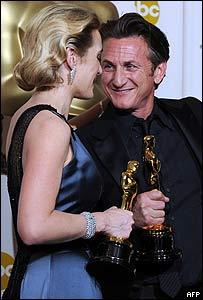 Kate Winslet y Sean Penn