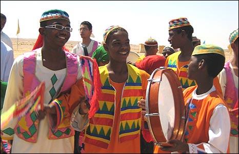 Nubian cultural celebrations at new development