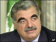 Rafik Hariri - file photo