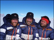 Henry Adams, Henry Worsley, Will Gow
