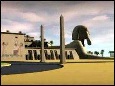 Proposed Gran Scala Egipcian hotel