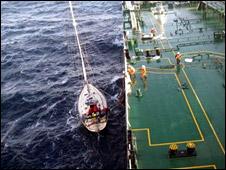Fleur crew rescued