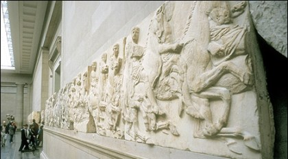 Parthenon Marbles at the British Museum