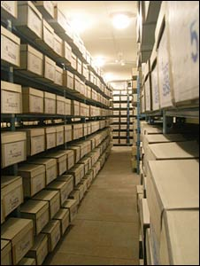 KGB archives in Kiev