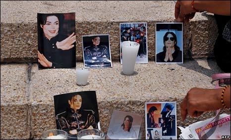 Waombolezaji wa Michael Jackson