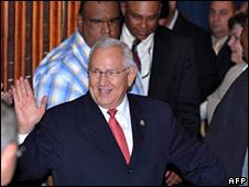 New Honduran President Roberto Micheletti