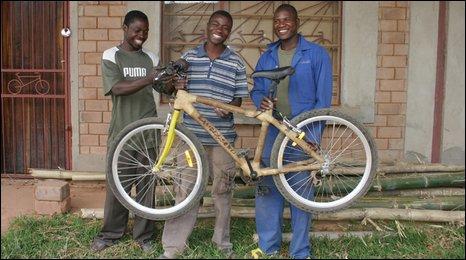 From bush to bike - a bamboo revolution via http://news.bbc.co.uk