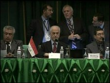 Iraqi oil contract auction