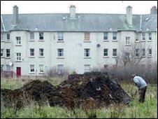Edinburgh housing estate