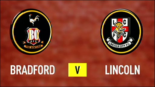 Image result for Bradford City and Lincoln City