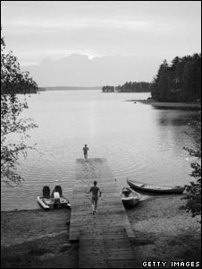 A lake in Finland