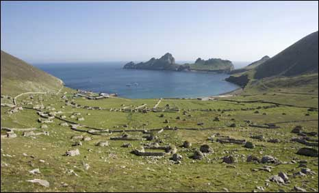 St Kilda. Pic  Crown Copyright: RCAHMS