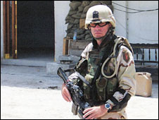 Sgt Jeff McKinney (Permission to use photograph granted by Sgt McKinney's family)