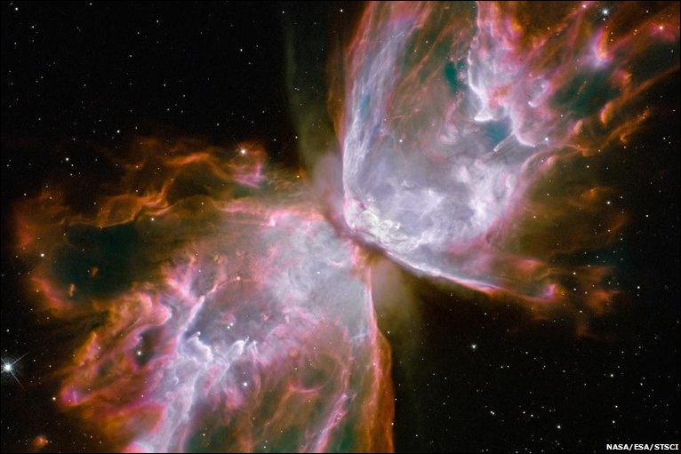 Clique para ver slideshow das últimas imagens do Hubble na BBC.