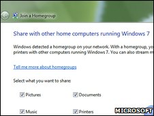 Win 7 screenshot (Microsoft)