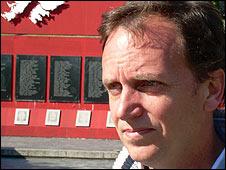 Argentine Falklands veteran Michael Savage