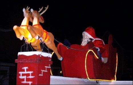 BBC Santa Sleigh Run For Charity Cash