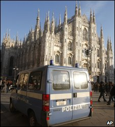 A view of Milan's cathedral (archive image)