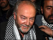 George Galloway in Gaza