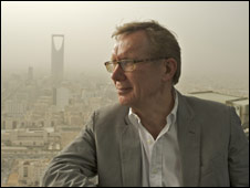 Peter Taylor in Riyadh