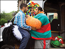 A Scene from Four Lions