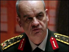 Turkey's Chief of Staff Gen. Ilker Basbug