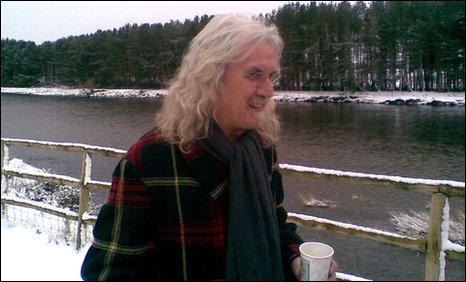 Billy Connolly opens Dee angling 2010