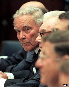 Alexander Haig appears before the US House Committee on Government  Reform in 1999