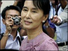 Aung San Suu Kyi (file image)