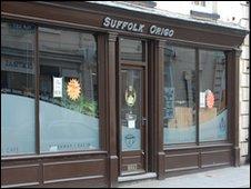 The Suffolk Oriego internet cafe in Ipswich