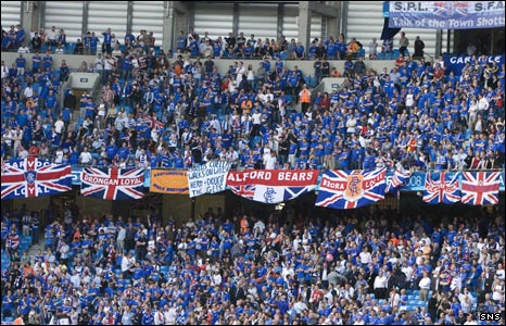 Image result for rangers supporters images