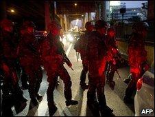 Troops gather in Bangkok