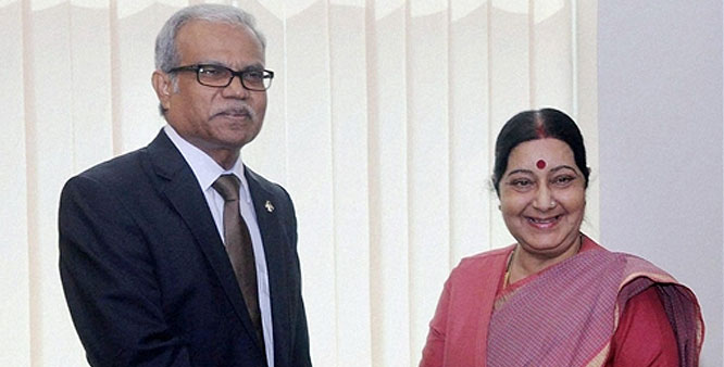 Maldives continues efforts to mend fences with India