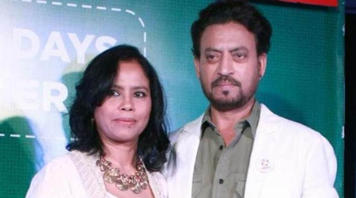 Indian actor Irrfan Khan's wife asks fans not to waste time trying to know his health condition