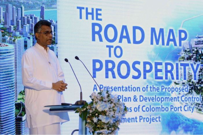 China-built Colombo Port City aims to be South Asia's hub in five years