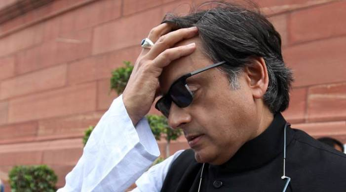 "Congress refuses to back Tharoor on his remark that BJP wants India to be a ""Hindu Pakistan"""