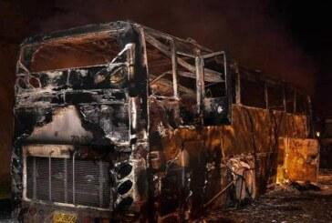 थाईलैंड में बस में लगी आग, म्यांमार के 20 कामगारों की मौत