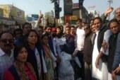 कांग्रेस नेत्री की गिरफ्तारी से कार्यकर्ताओं में आक्रोश, सीएम का पुतला फूंका