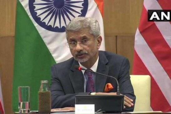 विदेश मंत्री ने कहा पाकिस्तान को कुलभूषण जाधव को तुरंत रिहा करे