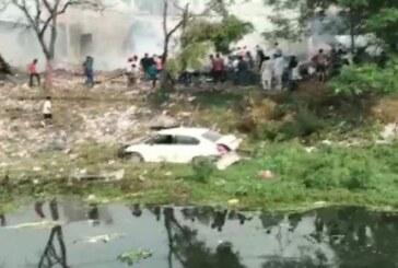 गुरदासपुर के पटाखा फैक्ट्री में लगी आग , 9 लोगों की मृत्यु