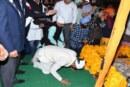 मुख्यमंत्री त्रिवेन्द्र सिंह रावत ने गुरूदारे में मत्था टेक कर प्रदेश की खुशहाली की कामना की