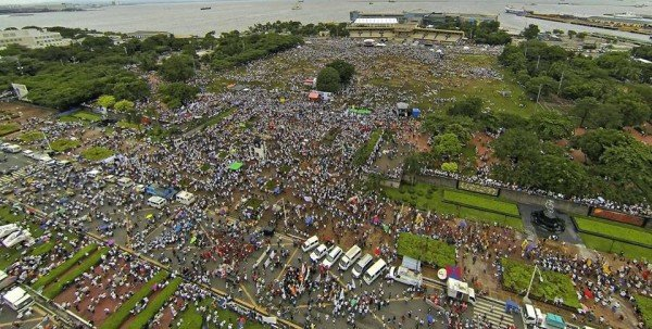 "These Million People March protesters want the ""dirt poor"" to starve, a pro-pork barrel lawmaker insinuated."