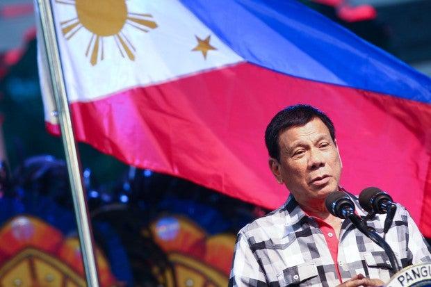 President Rodrigo Duterte. ACE MORANDANTE/ Presidential Photo